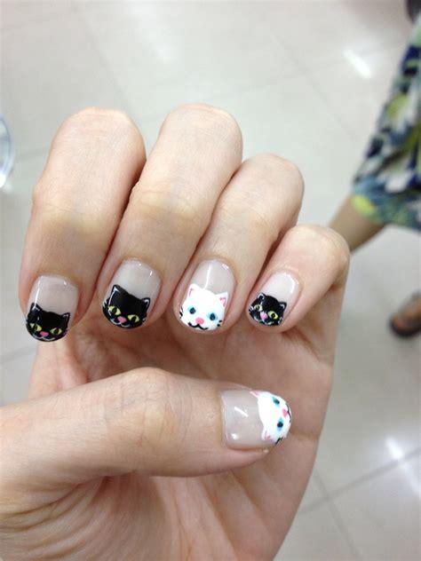 cat nail designs cat claw nail designs foto 2017