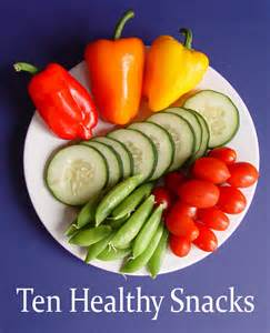 Printable Healthy Snack Ideas