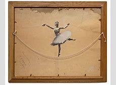 Ballerina by Banksy Colossal