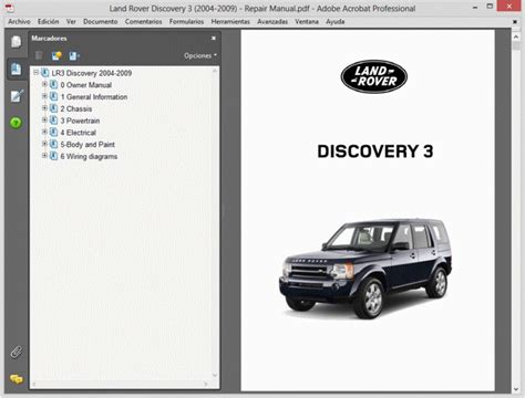 Land Rover Discovery Service Manual