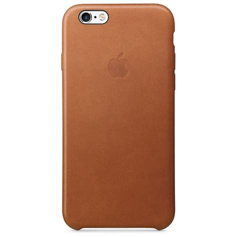 iphone 6 leather cases iphone 6s leather saddle brown apple