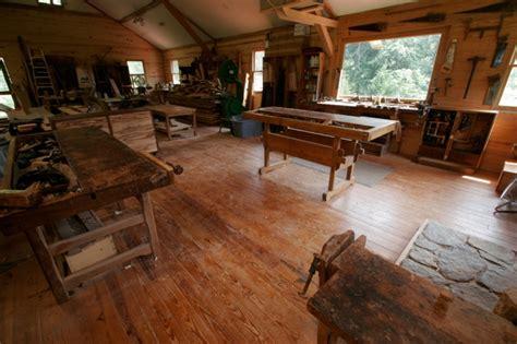 workshop organization timber frame woodshop