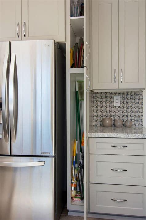 small broom closet cabinet   kitchen kitchen