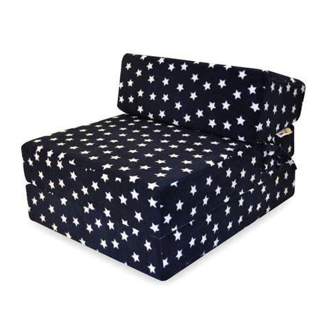 navy blue futon sofa bed implay soft play foam children s single sofa navy blue