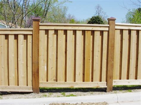 wood fence styles wooden fence pictures and ideas