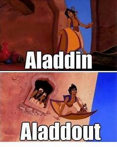Aladdin Aladdout | Meme on me.me