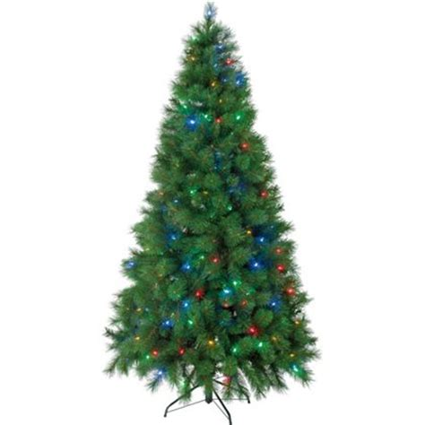 7ft pre lit chameleon christmas tree for 163 100 00 was 163 129 99 at homebase find it for less