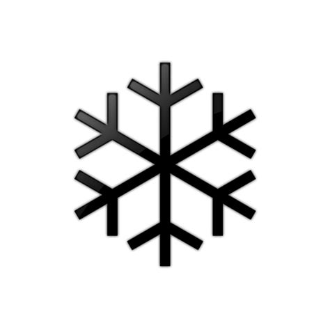 Transparent Background Snowflake Silhouette Snowflake Clip by Snowflake Clipart Black And White Clipart Free