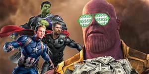 How, Avengers, 4, U0026, 39, S, Box, Office, Can, Beat, Infinity, War