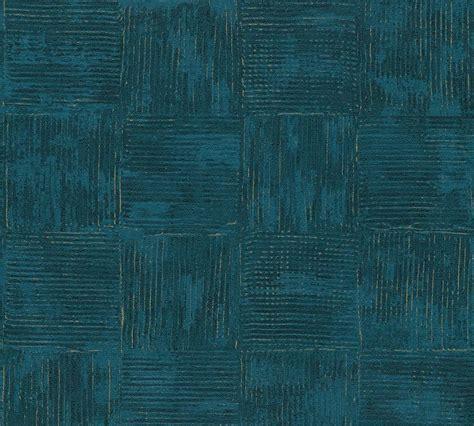 Vliestapete Used Vintage blau gold AS Creation 33989-5