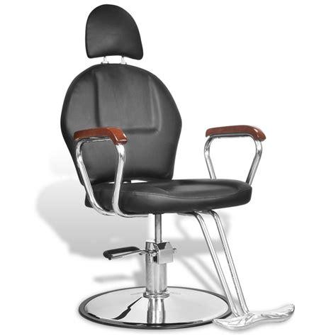 la boutique en ligne fauteuil de coiffure professionnel en simili cuir noir avec appui t 234 te