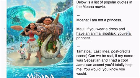 Moana Boat Quote by Moana Popular Quotes
