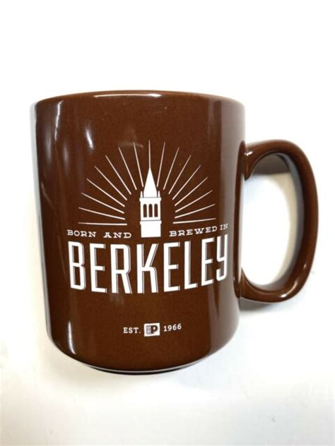 ☕️ keep up with the latest: NEW Peet's Coffee Cup Mug Cup Born and Brewed in Berkeley CA Est. 1966 VINTAGE | eBay