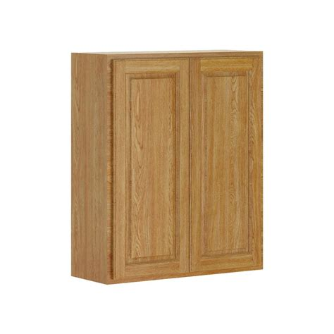 home depot unfinished kitchen wall cabinets 30x30x12 in wall cabinet in unfinished oak w3030ohd the
