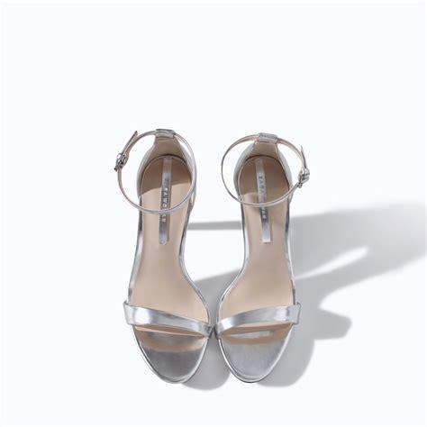 peep toe high heel boots strappy silver sandals heels is heel