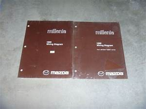 1999 Mazda Millenia Electrical Wiring Diagram Manual New