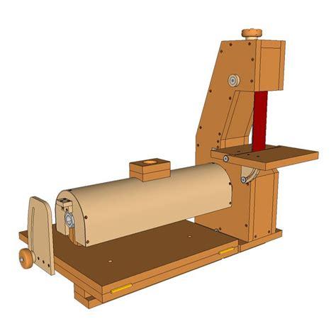 sanding station plans belt sander  thickness sander