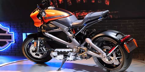 Close Look At The New Harley-davidson Livewire Electric