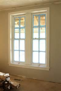 Shaker Style Window Trim