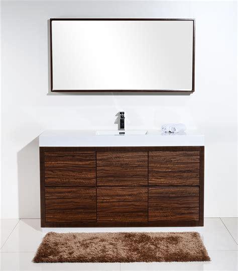 bathroom vanity clearance sale toronto bliss 60 quot single sink floor moun walnut bathroom vanity