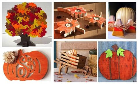 easy beginner woodworking projects  fall autumn