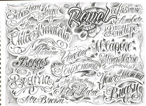 Grafiti Intan : Chicano, Scripts