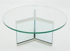 Round glass coffee table top round table furniture round for Glass top circle coffee table