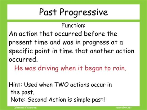 Review Verbs Simple And Progressive Tense