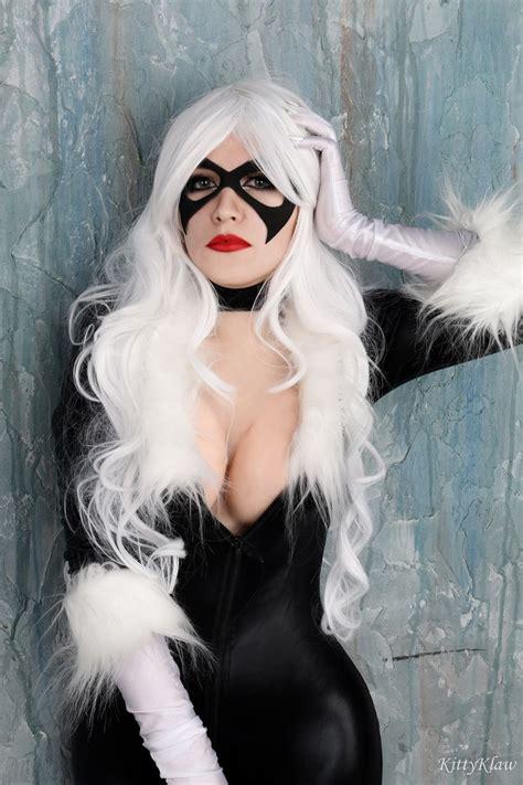 asmr kittyklaw sexy black cat cosplay photos thothub tv