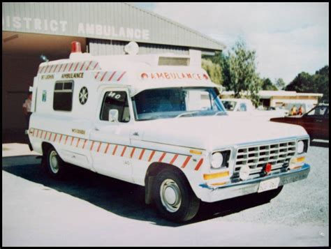 ford  series ambulance