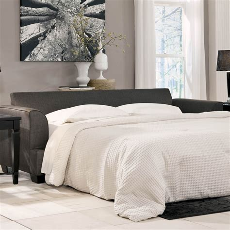 ashley furniture levon sleeper sofa signature design by ashley levon queen sofa sleeper