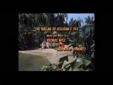 Crash Boat Song by Gilligan S Island Intro Closing W Cbs In Color Hq