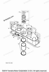 Yamaha Boat 2014 Oem Parts Diagram For Jet Unit 4