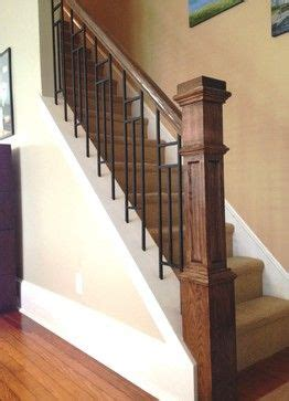 craftsman style stair railing 17 best ideas about interior railings on 6253