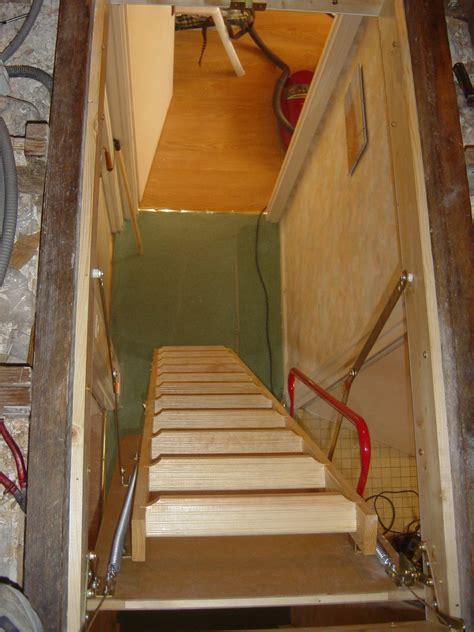 poser un escalier escamotable pose d