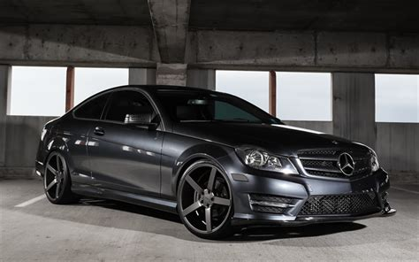 Download Wallpapers Mercedes-benz C-class, C250, Sports