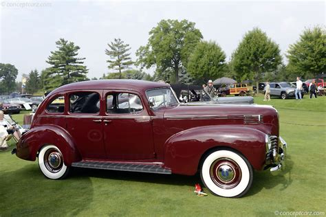 1940 Hudson Series 44 History, Pictures, Sales Value ...
