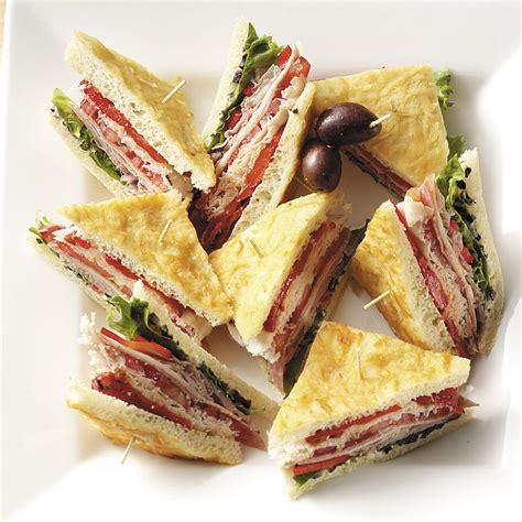 sandwich ideas focaccia sandwiches recipe taste of home
