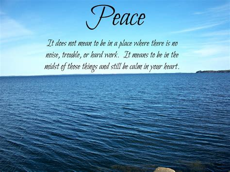 Mind Blowing Quotes Peaceful Life