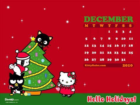 Hello Kitty Christmas Wallpaper Desktop