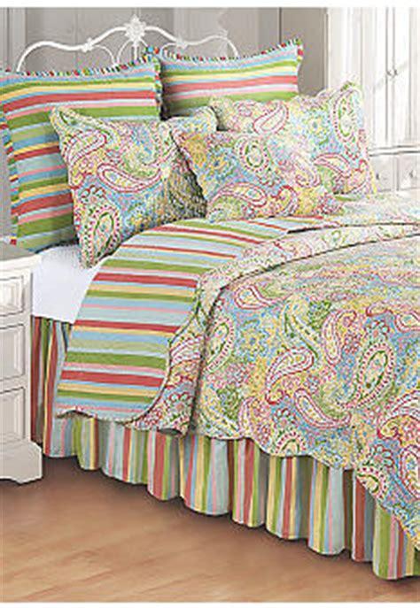 c f bright paisley quilt collection belk com