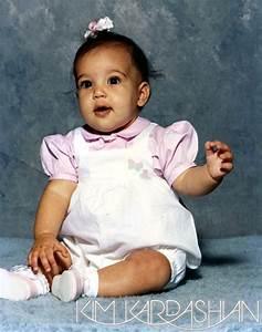 Baby Picture | Kim Kardashian Childhood Album | Us Weekly