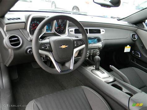 black interior  chevrolet camaro ls coupe photo