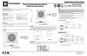 Leviton Ceiling Occupancy Sensor Manual