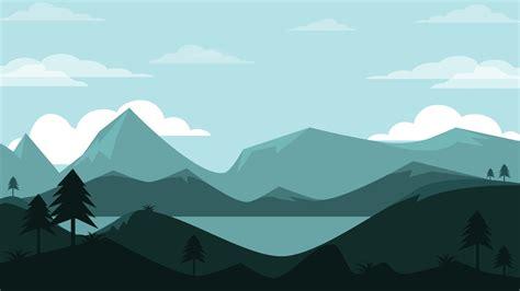 Mountains Landscape Minimal 4k Wallpapers