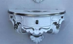 Wandkonsole Mit Schublade Weiß : wandkonsole antik g nstig online kaufen bei yatego ~ Bigdaddyawards.com Haus und Dekorationen