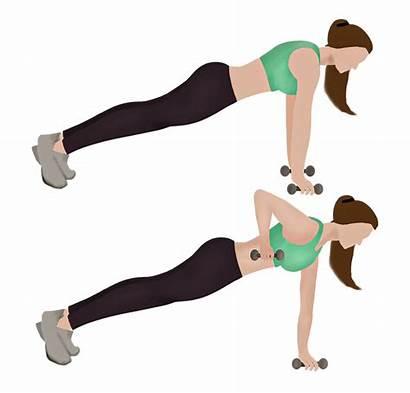 Workout Rows Renegade Flat Exercise Jessicaautumn Tummy