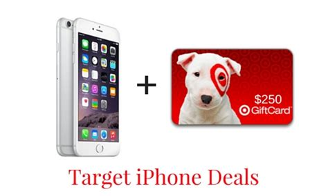 target iphone deals 250 target gift card with new iphone 6 southern savers