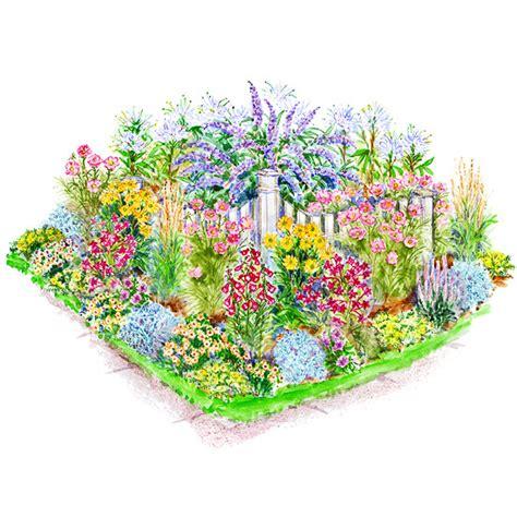 creative of flower garden layout planner garden plans