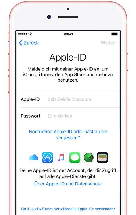 iphone ipad und ipod touch einrichten apple support